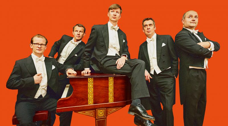 Five Gentlemen - Comedian Harmonists, Pressebild, Christoph Wiatre (Piano), u.a.